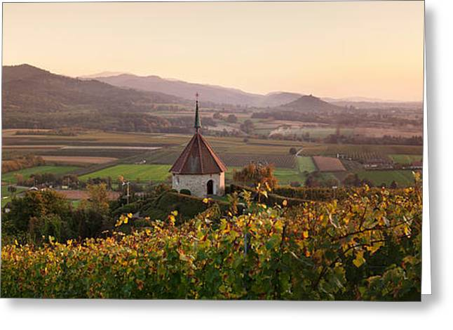 View Of Olbergkapelle Chapel Greeting Card by Panoramic Images