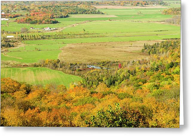 View Of Ottawa Valley In Autumn 16 Greeting Card