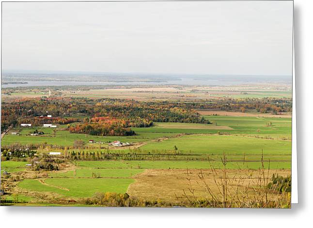 View Of Ottawa Valley In Autumn 30 Greeting Card