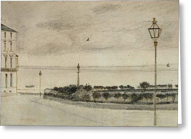 View Of Royal Road, Ramsgate, 1876 01 Greeting Card