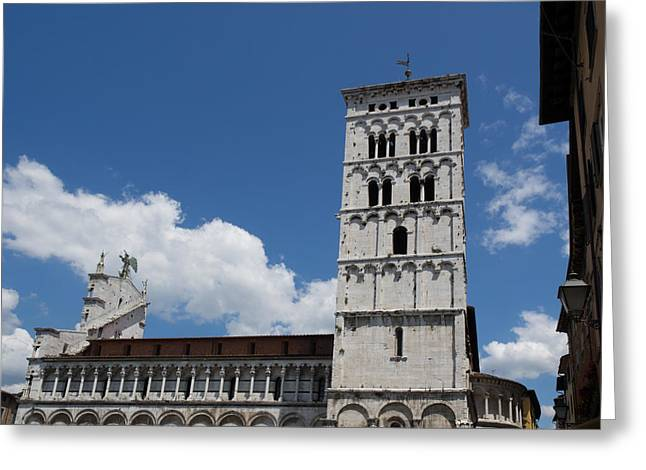 View Of The Chiesa Di San Michele Greeting Card