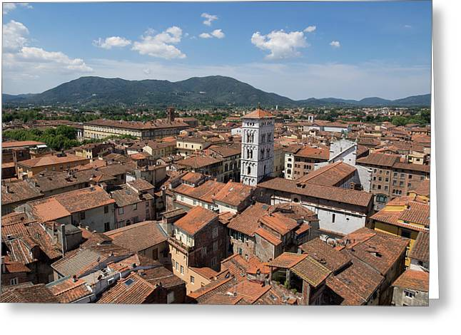 View Of The Chiesa Di San Michele Seen Greeting Card