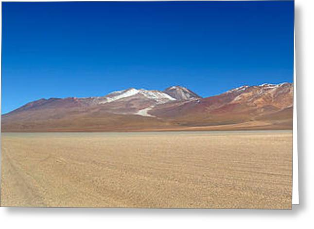 View Of The Eduardo Avaroa Andean Fauna Greeting Card by Panoramic Images