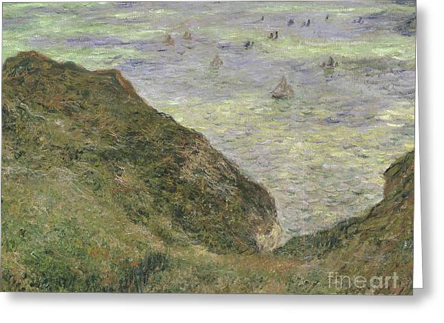 View Over The Sea, 1882  Greeting Card by Claude Monet