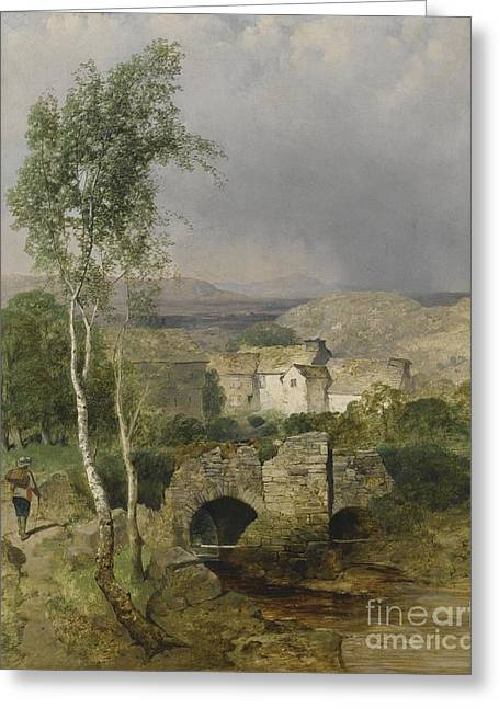 View To Hillsdale Greeting Card