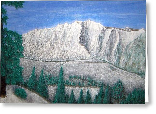 Viewfrom Spruces Greeting Card