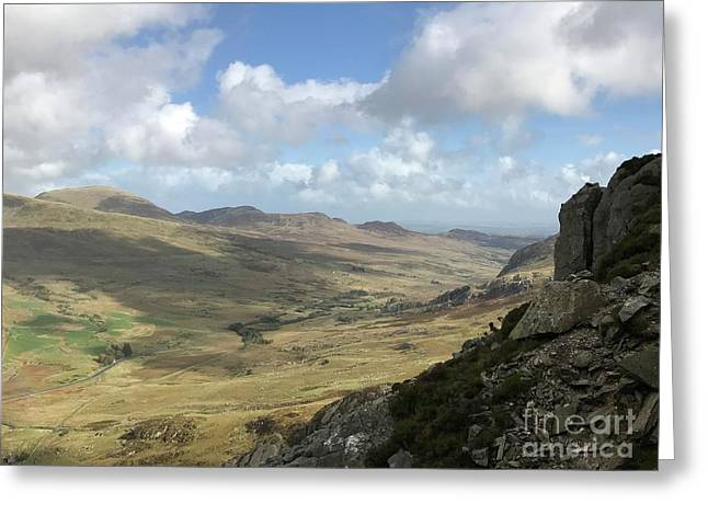Views From Tryfan Greeting Card