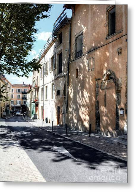 Views Of Vienne France 2 Greeting Card