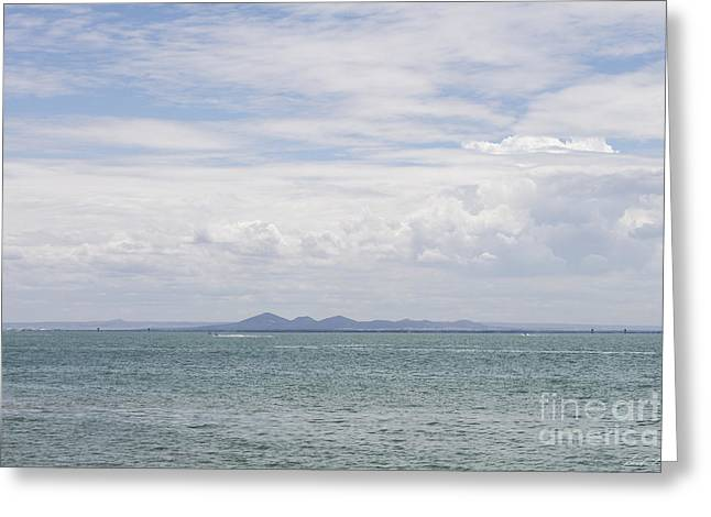 Views To The You Yangs Greeting Card