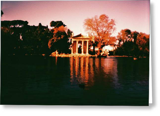 Villa Borghesse Rome Greeting Card