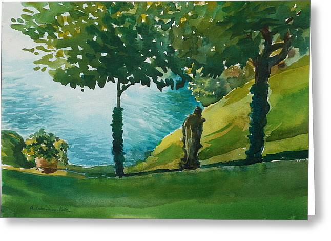 Villa Del Balbianello Greeting Card