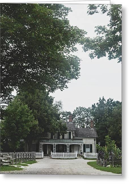 Villa Greeting Card