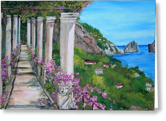 Villa San Michele In Anacapri Greeting Card