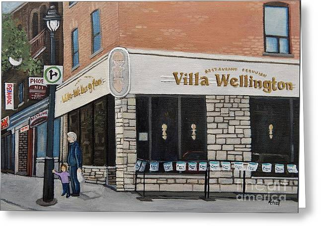 Villa Wellington In Verdun Greeting Card