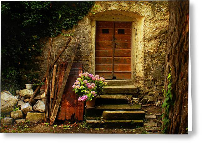 Village Of Hum Croatia Greeting Card by Don Wolf