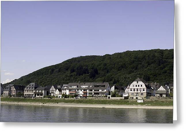 Village Of Spay Germany Greeting Card by Teresa Mucha