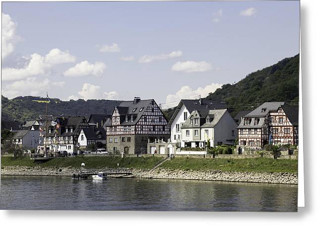 Village Of Spay Germany 05 Greeting Card by Teresa Mucha
