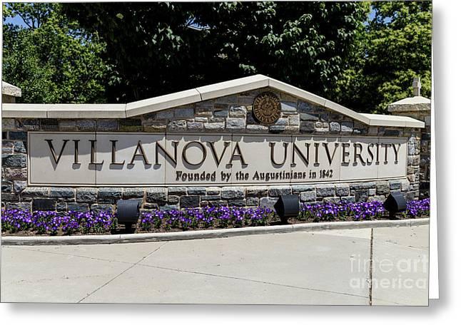 Villanova Greeting Card