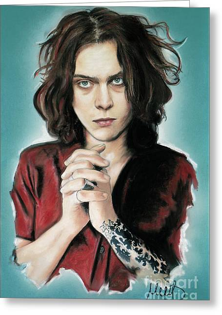 Ville Valo Greeting Card