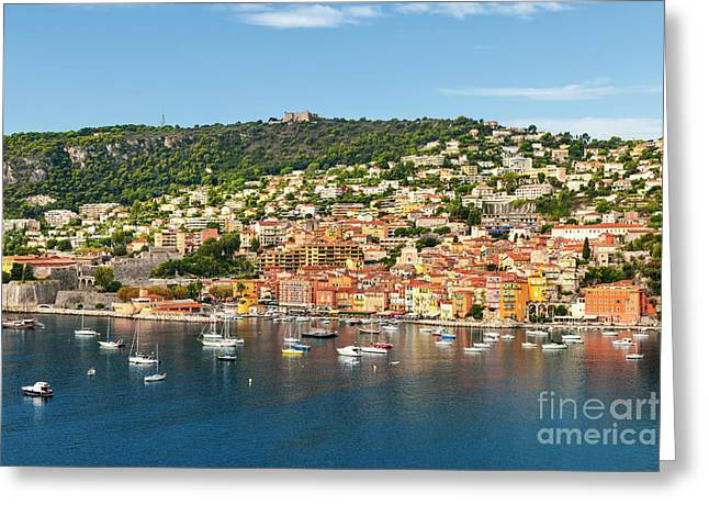 Villefranche-sur-mer Greeting Card