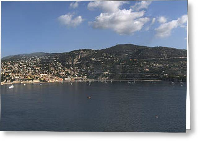Villefranche  Greeting Card by Terence Davis