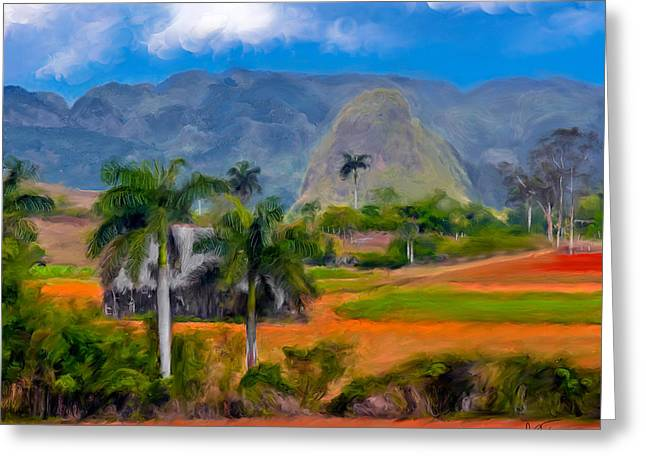 Vinales Valley. Cuba Greeting Card