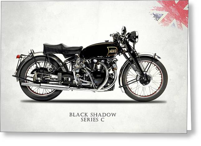 Vincent Black Shadow Greeting Card