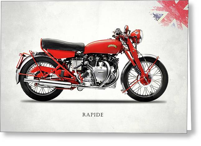 Vincent Rapide 1955 Greeting Card