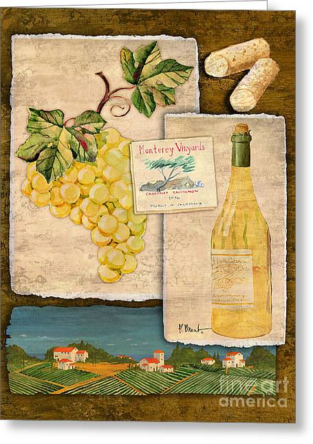 Vineyard View II Greeting Card