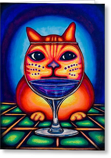 Vino Kats Greeting Card