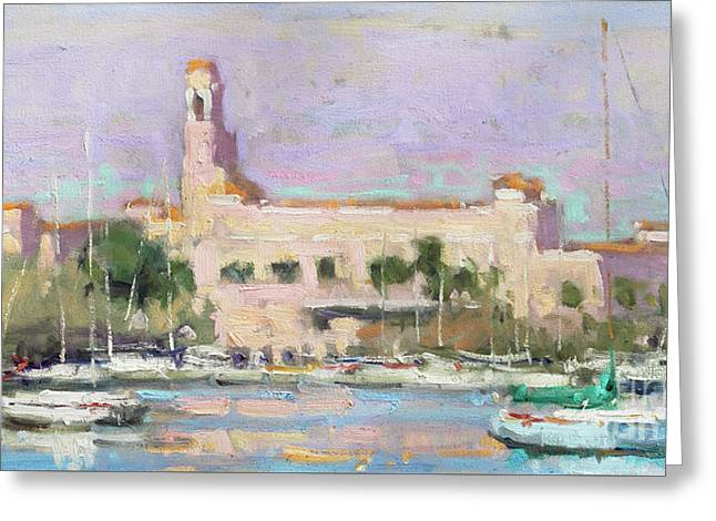 Vinoy Renaissance Hotel Greeting Card by Jerry Fresia