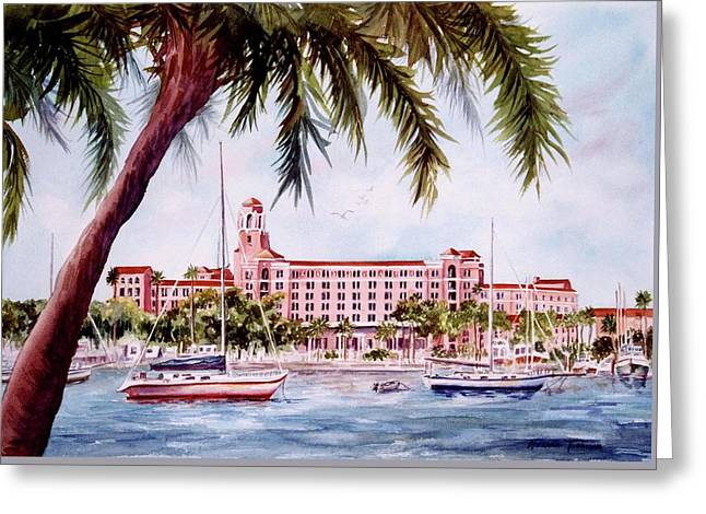 Vinoy View Greeting Card