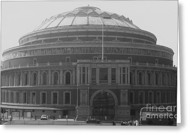 Vintage Albert Hall Greeting Card
