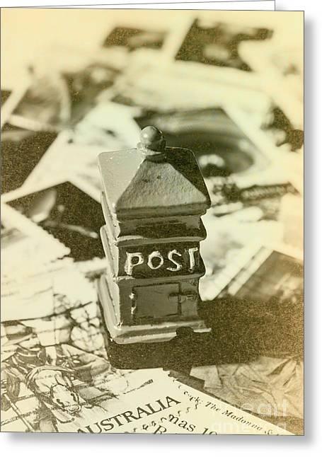 Vintage Australian Postage Art Greeting Card