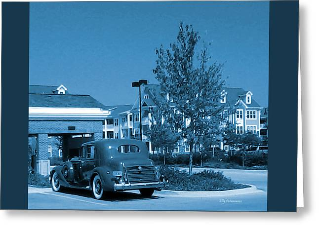 Vintage Automobile Greeting Card