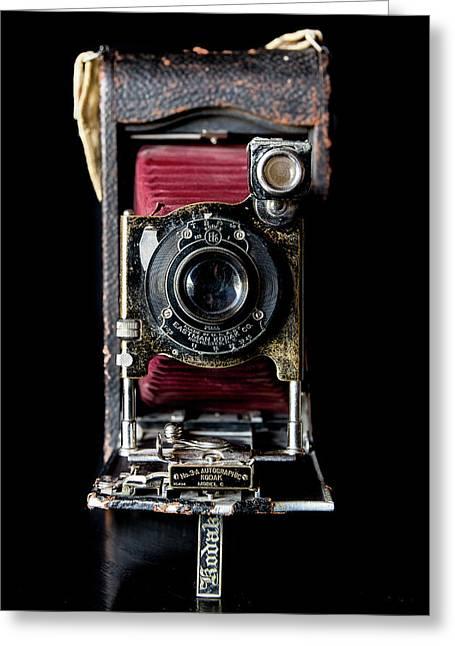 Vintage Bellows Camera Greeting Card