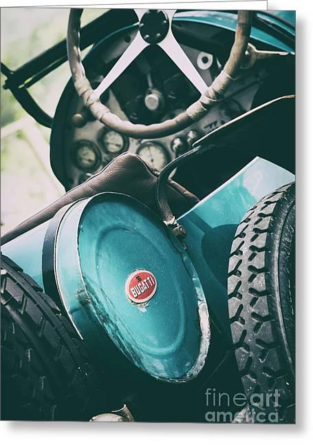 Vintage Bugatti T23 Greeting Card by Tim Gainey