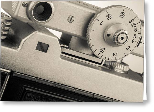 Vintage Camera -3 Greeting Card