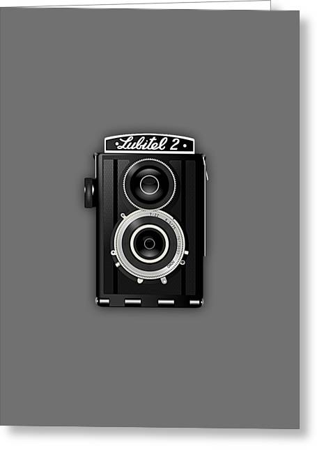 Vintage Camera Collection Greeting Card by Marvin Blaine