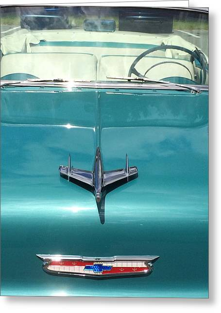 Vintage Chevy Greeting Card