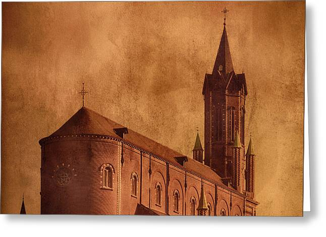 Vintage Church Greeting Card