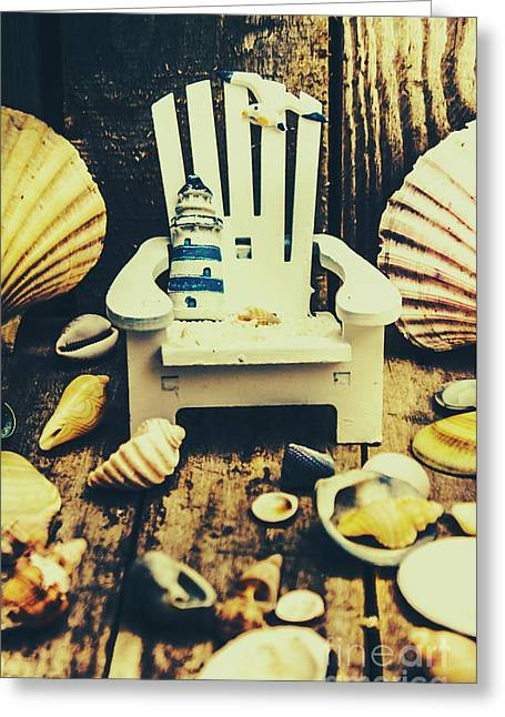 Vintage Cruise Deck Details Greeting Card by Jorgo Photography - Wall Art Gallery