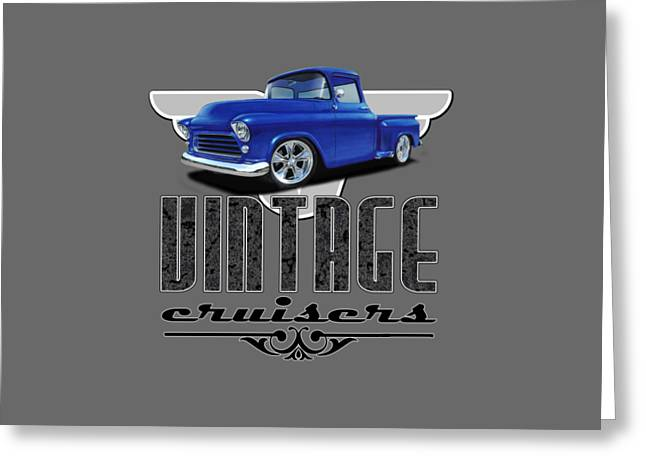 Vintage Cruiser Logo Greeting Card