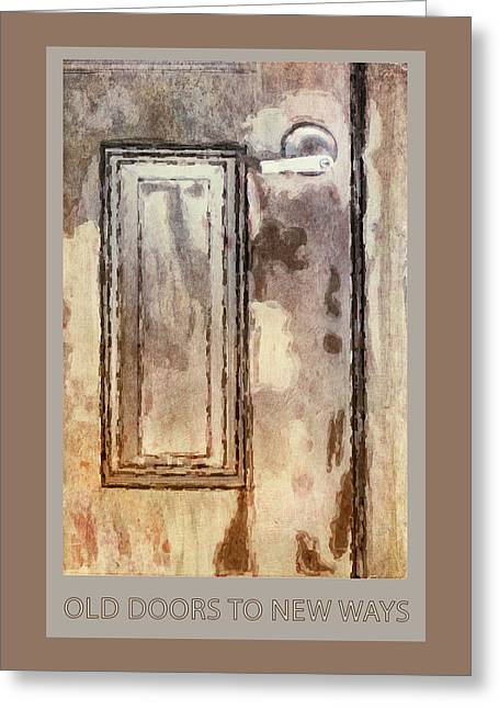 Vintage Door 1 Greeting Card by Eduardo Tavares