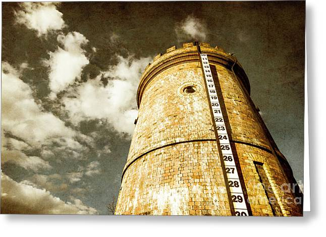Vintage Evendale Water Tower Greeting Card