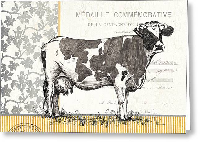 Vintage Farm 4 Greeting Card
