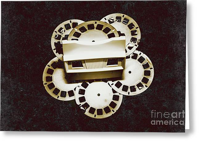 Vintage Film Toy Greeting Card by Jorgo Photography - Wall Art Gallery