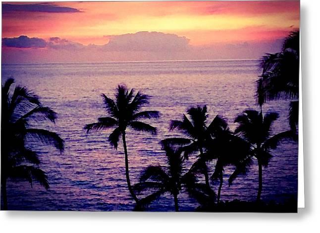 Vintage Hawaii Greeting Card by Russell Keating