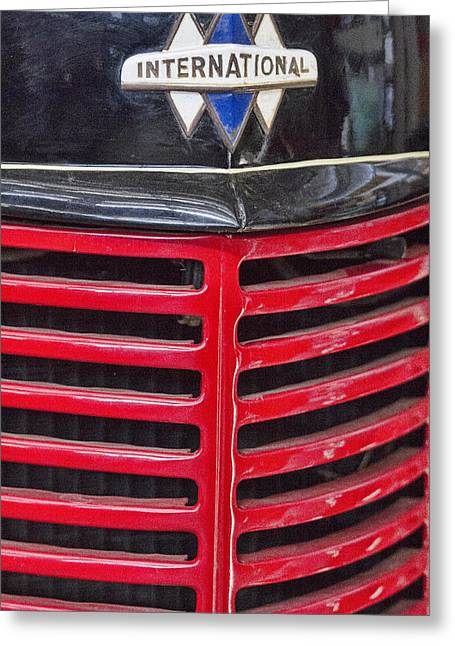 Vintage International Truck Greeting Card