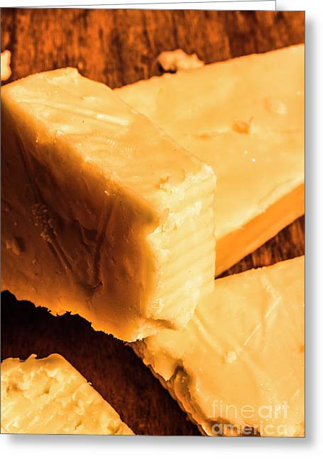 Vintage Italian Cheeses Greeting Card